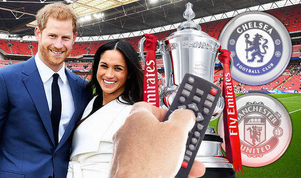 Royal wedding ve FA Cup