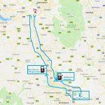Elektrikli araba ile Drayton Manor Theme Park yolculuğu