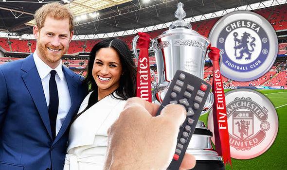 Royal wedding ve FA Cup