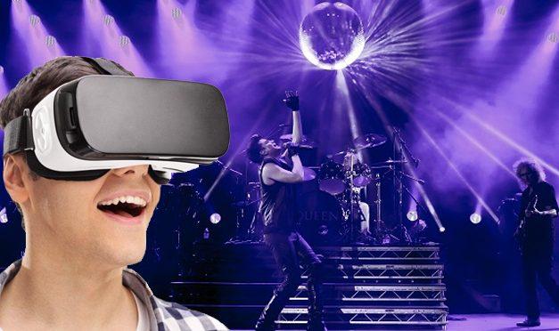 MRG – Virtual Reality ve 360° Konser videoları