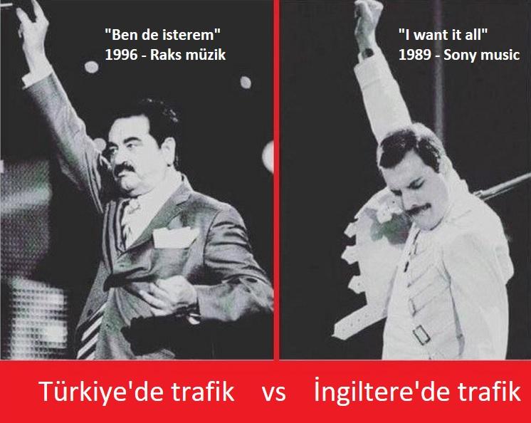 Trafik: Türkiye vs İngiltere