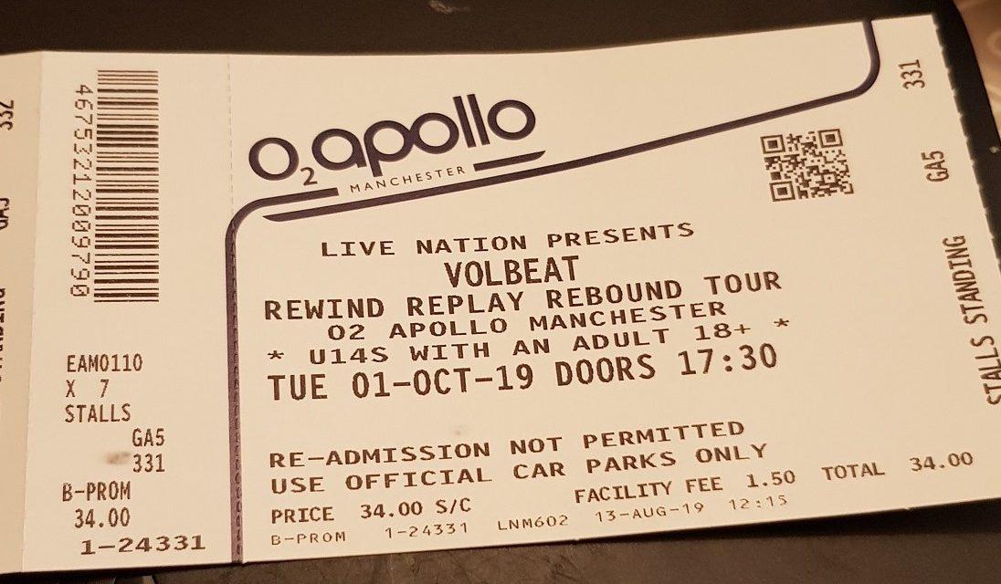 Volbeat (@Apollo Manchester)